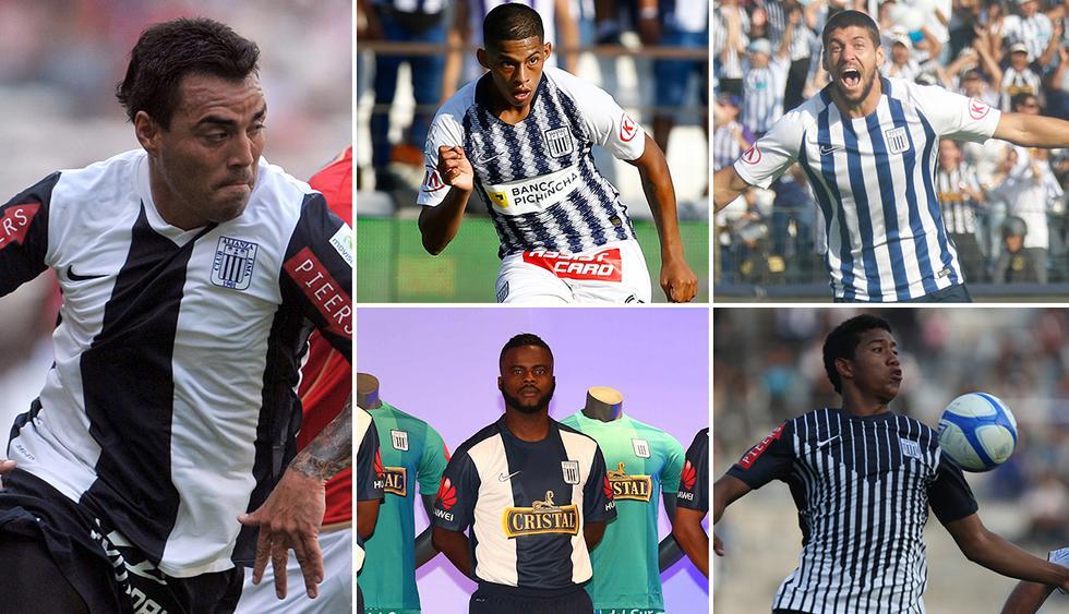 Recuerda las últimas camisetas blanquiazules que presentó Alianza Lima. (Foto: Archivo GEC)