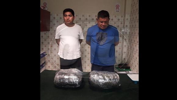 Sujetos vendían marihuana dentro de video pub y la policía los captura (FOTO)