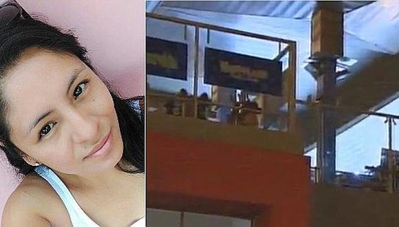 Mujer sale a comer por San Valentín y recibe bala perdida en supermercado de Comas