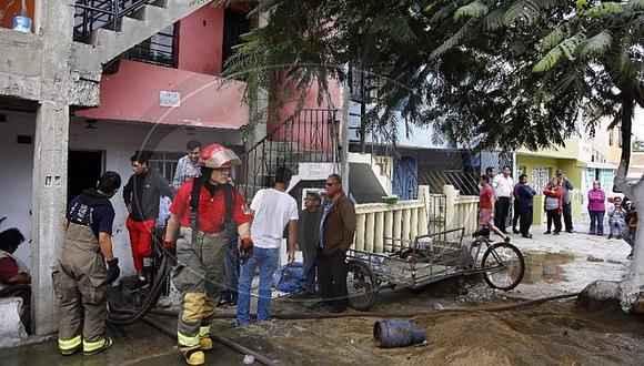 SMP: inescrupulosos aprovechan incendio en vivienda para robar