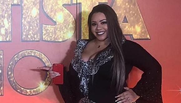 """""""El artista del año"""": Mirella Paz indignada por críticas de su peso"""