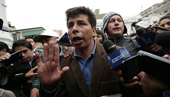 Pedro Castillo es el candidato presidencial de Perú Libre. (Foto: GEC)