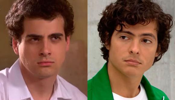 Los actores que dieron vida a Julio Ganoza y ya no están. Al lado izquierdo Emilio Noguerol y al derecho Mario Cortijo. (Foto: América TV)