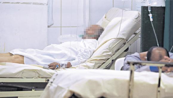 Uno de los agraviados falleció en el hospital Cayetano Heredia, cuatro días después de que los inescrupulosos le aplicaron inyecciones. (Foto archivo referencial GEC)