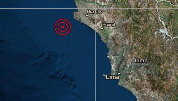 El epicentro de este movimiento telúrico se ubicó a 22 kilómetros al noreste de Huaral. (Imagen referencial / IGP)