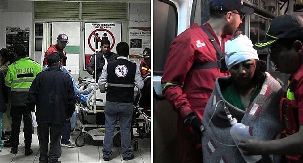 Ocho muertos y 22 heridos deja caída de camión a profundo abismo en Apurímac