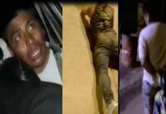 Ladrón roba celular y su víctima lo acuchilla por la espalda | VIDEO