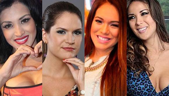 4 figuras públicas alientan a la selección peruana con bellas prendas