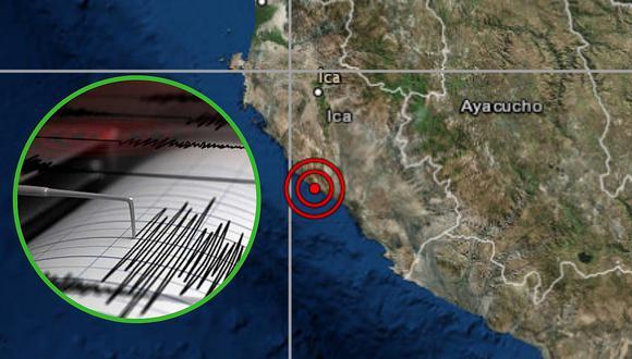 Intenso sismo de 6.0 se sintió en la noche en Ica