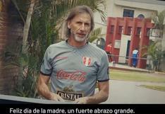 Gareca, Farfán, Flores y los integrantes de la selección peruana enviaron un saludo por el Día de la Madre | VIDEO