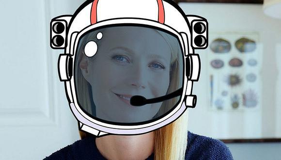 NASA llama la atención a Gwyneth Paltrow por promocionar producto falso