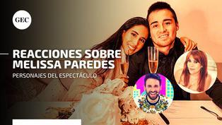 Melissa Paredes y el 'Gato' Cuba: mira las reacciones de los personajes del espectáculo tras el fin de su matrimonio