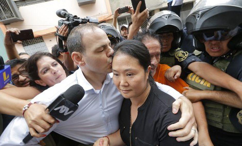 Keiko Fujimori cumple una orden de prisión preventiva por 15 meses en el Penal Anexo de Mujeres en Chorrillos. (Foto by Luka GONZALES / AFP)