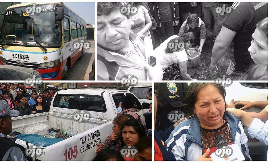 ¡Lamentable! Escolar muere por correteo de buses en Independencia (VIDEO)