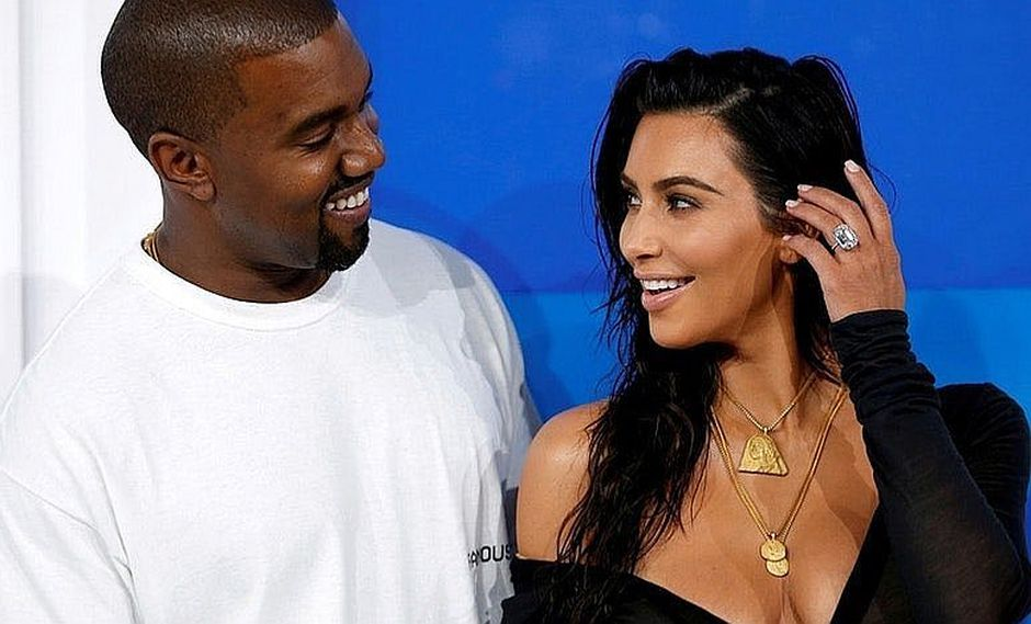 Kim Kardashian y Kanye West celebran 4 años de matrimonio