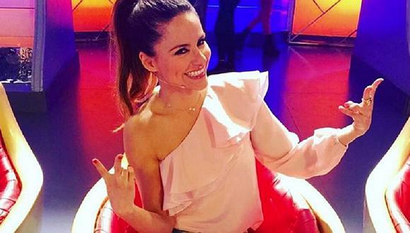 Mónica Hoyos llega a Lima y reaparecerá en la pista de El Gran Show