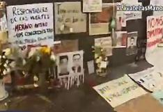 Marcha Nacional: realizan homenaje a jóvenes que fallecieron en manifestaciones | VIDEO