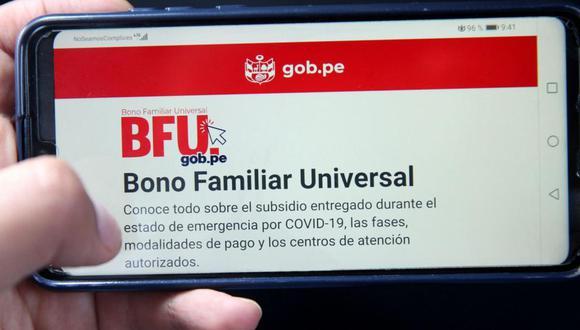 Para saber si eres beneficiario en esta modalidad de pago puedes ingresar al link www.bfu.gob.pe (Foto: Andina)