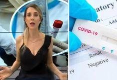 Juliana Oxenford revela que se realizó la prueba rápida del coronavirus