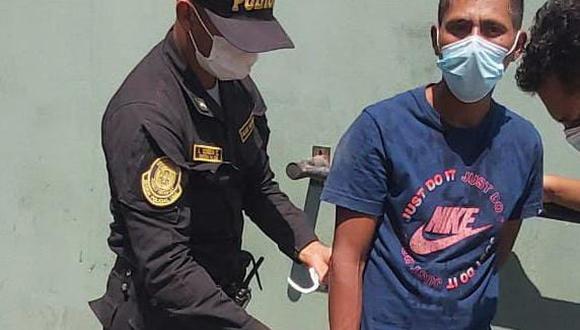 Delincuentes intentaron asaltar a mototaxista y policía frustró el asalto. (GEC)