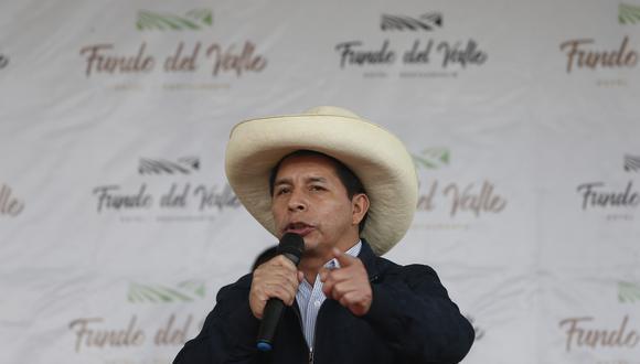 El JNE proclamó la victoria de Pedro Castillo, candidato presidencial de Perú Libre, en una ceremonia virtual la noche del lunes 19 de julio. (Foto: Jorge Cerdan / @photo.gec)