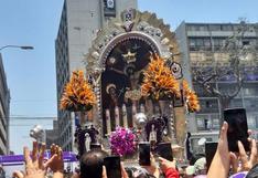 Señor de los Milagros realiza su quinto y último recorrido procesional│VIDEO