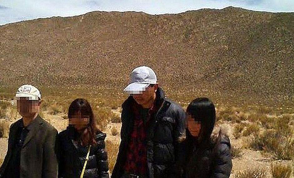 Traficantes de chinos se burlan de PNP al llevarlos por nuestro territorio