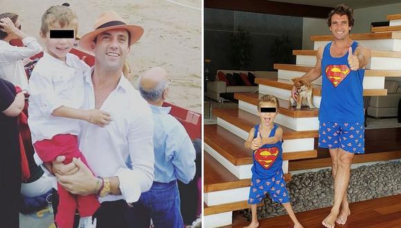 """Antonio Pavón recuerda a su hijo con tiernas fotos: """"siempre vamos a caminar juntos"""""""