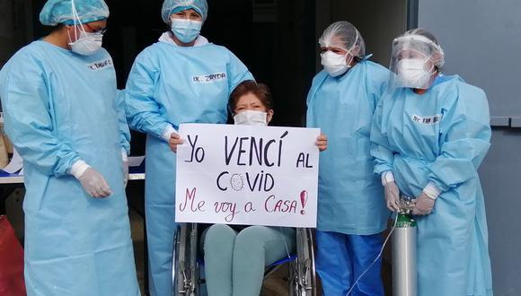 Ayacucho: Docente con diabetes sale de UCI tras 28 días y vence al COVID-19