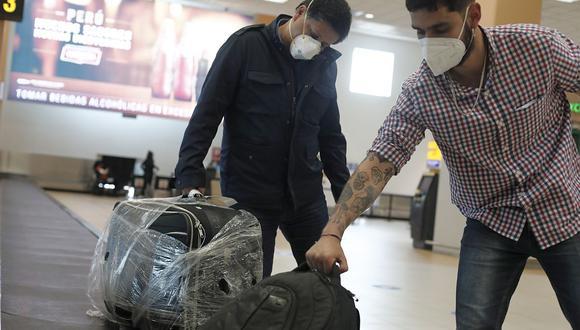 Gobierno dispone que vuelos procedentes de la India queden suspendidos y amplía la suspensión en vuelos de Sudáfrica y Brasil para proteger a los ciudadanos ante las nuevas variantes del COVID-19. (Foto: Leandro Britto / GEC)