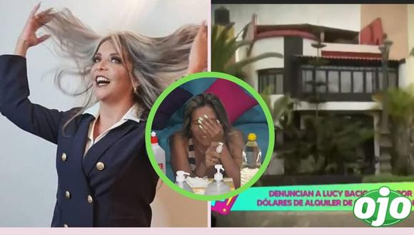 """Imágenes extraídas del programa """"Amor y fuego"""" y del Instagram de Lucy Bacigalupo"""