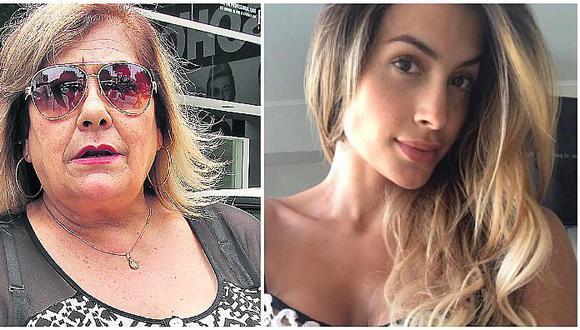 Milett Figueroa le preguntan si está peleada con su mamá por Michelle Soifer y esto respode