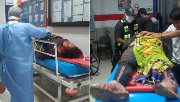 Huánuco: Mujer es golpeada y acuchillada por su pareja tras acusarla de serle infiel.