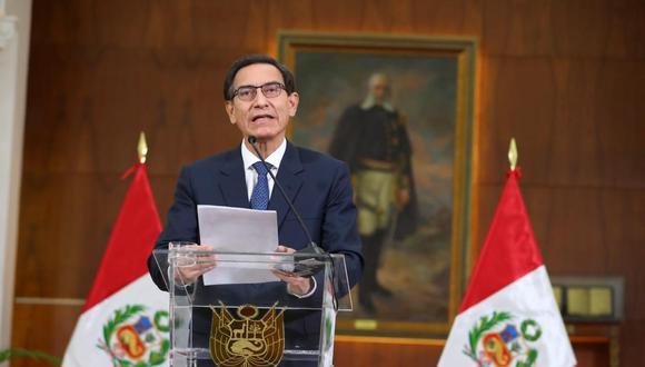 Martín Vizcarra anunciará HOY las nuevas medidas de Gobierno frente a la pandemia  (Presidencia)