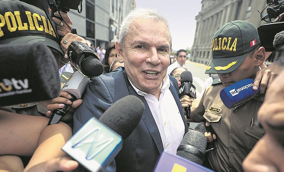 AUDIENCIA DE PRISION PREVENTIVA PARA GISELLE ZEGARRA  FLORES, LUIS CASTAÑEDA LOSSIO Y JOSE LUNA GALVEZ