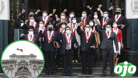 Perú Libre quiere cambiar la Constitución. Foto: (GEC).