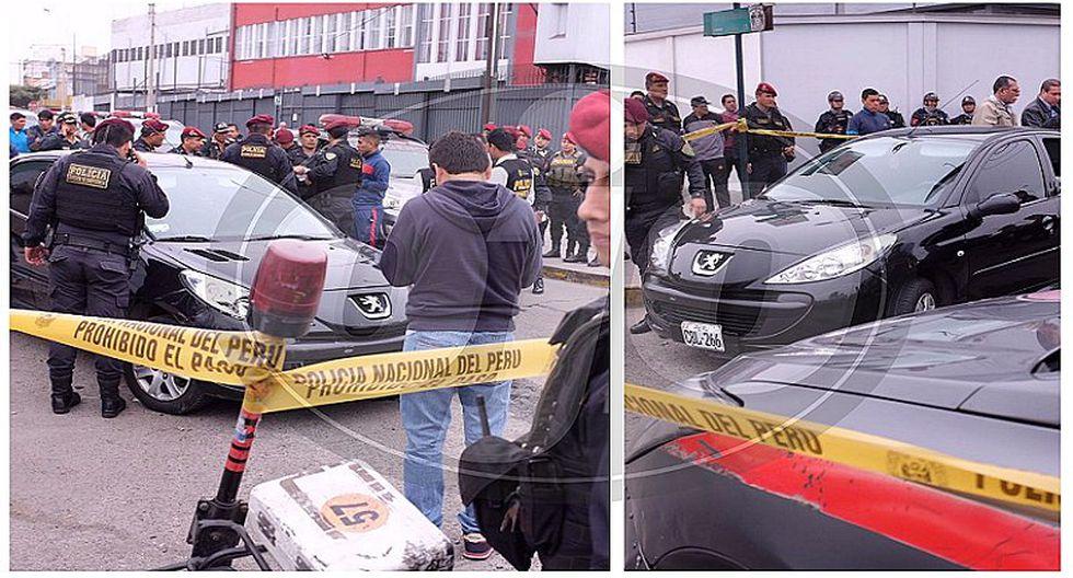 Vía Expresa: balacera se produce cerca a la avenida Javier Prado y capturan a 'marcas' (VIDEO)