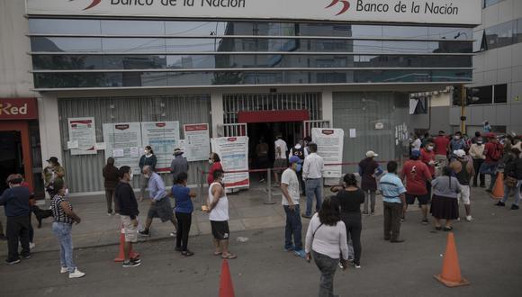 """""""No negamos las dificultades que ha habido, lo hemos comentado varias veces"""", afirmó la ministra Ariela Luna sobre la entrega de bonos. (Foto: Anthony Niño de Guzman / GEC)"""