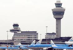 Error técnico provocó falsa alarma de secuestro de avión en Ámsterdam