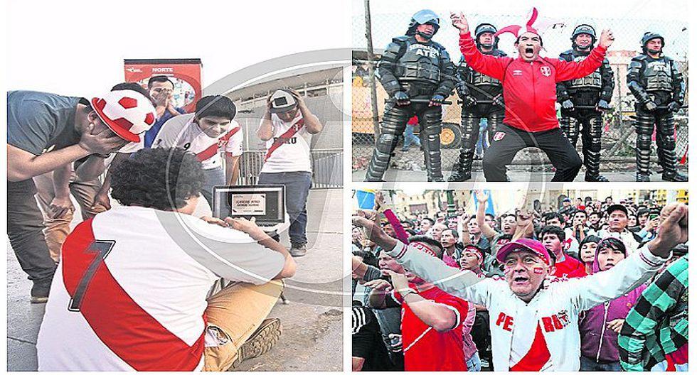 """Perú vs. Colombia: hinchas sufrieron con """"cola virtual"""" y muchos se quedaron sin entrada"""