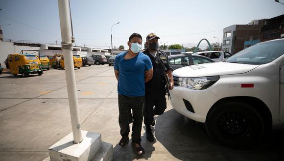 Giovanny Herrera, sindicado como el autor del homicidio, fue capturado en su cuarto alquilado. (GEC)
