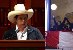 Castillo podría cometer un delito si no se quita el sombrero al entonar Himno durante juramentación