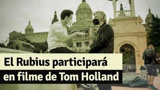 """El Rubios revela las fotografías al lado de Tom Holland durante su participación en la película """"Uncharted"""""""
