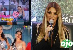 "Jessica Newton minimiza a exMiss Junín y 'chanca' a Rodrigo y Gigi: ""no veo ese programa"""
