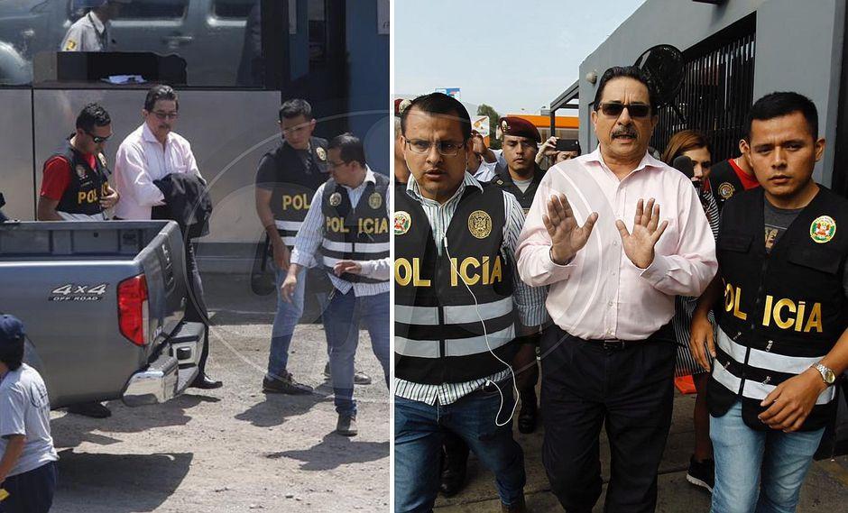 Enrique Cornejo es trasladado a Medicina Legal tras su detención (FOTOS)