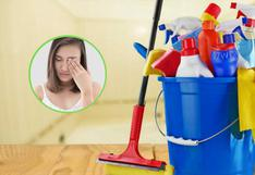 COVID-19: ¿Las sustancias de limpieza y aseo pueden dañar nuestros ojos?