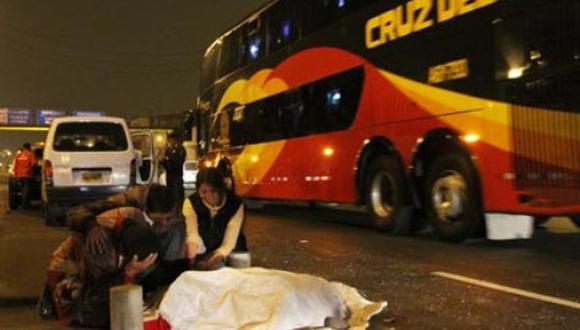 Dos mujeres mueren atropelladas por no cruzar por el puente peatonal
