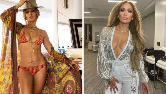 Jennifer Lopez mostró una sesión de fotos que hizo para su cumpleaños número 52. (Foto: Instagram @jlo).