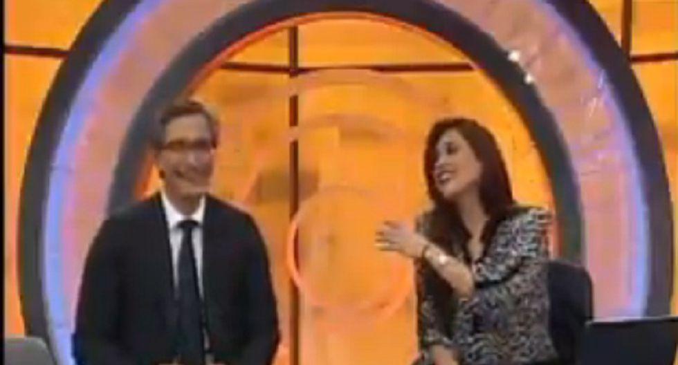 Federico Salazar trollea a Verónica Linares en programa en vivo