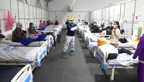Pacientes reciben terapias psicológicas durante su recuperación (Foto: EsSalud).